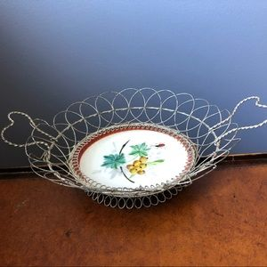 Authentic Victorian Calling Card Basket